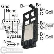 Модуль зажигания IG-D1928H